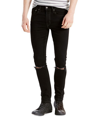 LeviS Rock N Roll Radio 519 Extreme Skinny-Fit Jeans-BLACK-36X32