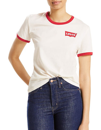 LeviS Perfect Ringer Tee-RINGER MARSHMALLOW-Medium