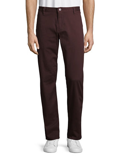 Dockers Washed Skinny Khakis-PURPLE-32X34