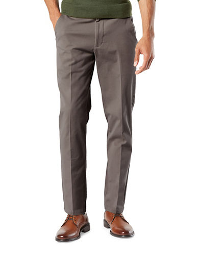 Dockers Smart 360 Flex Slim Tapered Pants-BROWN-40X30