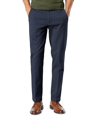 Dockers Smart 360 Flex Slim Tapered Pants-BLUE-32X32