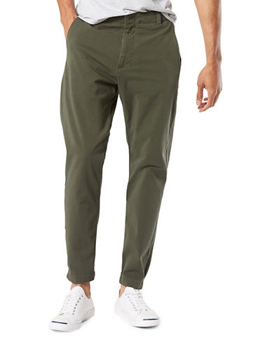 Dockers Slouch Tapered-Fit Alpha Jogger Pants-GREEN-32X32