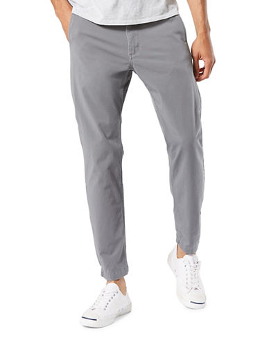 Dockers Slouch Tapered-Fit Alpha Jogger Pants-GREY-40X32