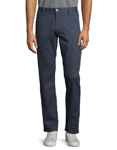 Dockers Alpha Khaki Slim Tapered Fit Pants-BLUE-34X32