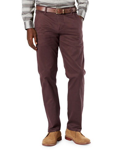 Dockers Alpha Slim Tapered Fit Jeans-PURPLE-30X32