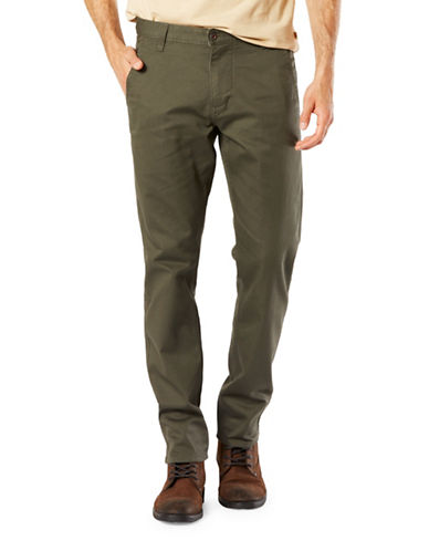 Dockers Alpha Slim Tapered Fit Jeans-GREEN-32X34