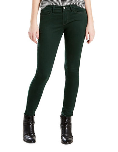LeviS 710 Super Skinny Sateen Jeans-GREEN-27X30