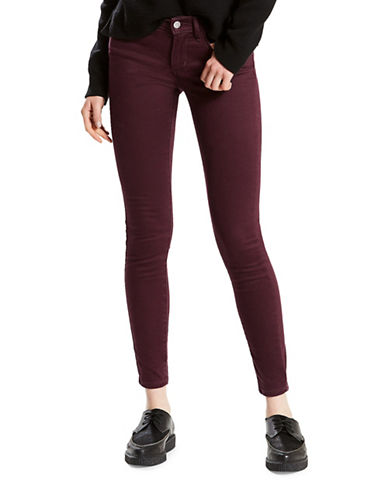 LeviS 710 Super Skinny Sateen Jeans-RED-27X30