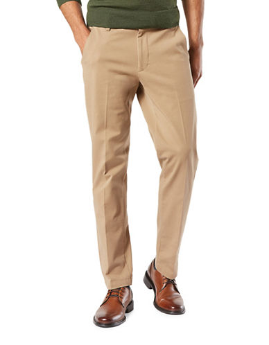 Dockers Smart 360 Flex Slim Tapered Pants-BEIGE-34X32