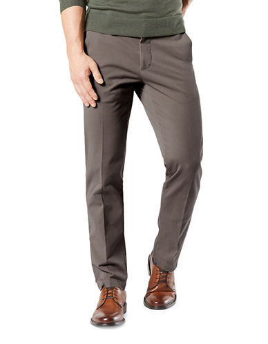Dockers Smart 360 Flex Straight Pants-GREY-32X30