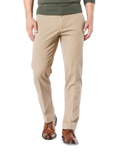 Dockers Smart 360 Flex Straight Pants-BEIGE-32X32