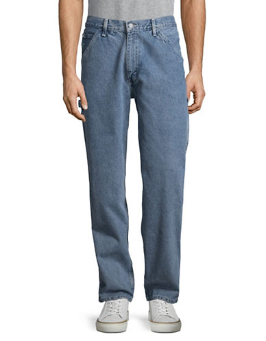 LeviS Cotton Carpenter Pants-BLUE-32X34