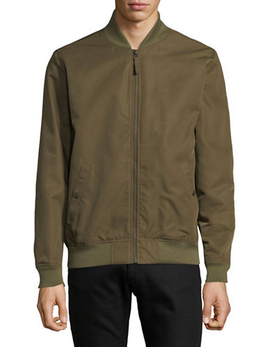 LeviS Lyon Bomber Jacket-GREEN-Small