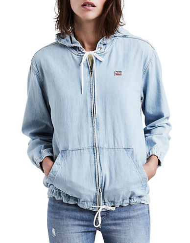 Levi'S Gym Class Hero Cotton Hoodie-BLUE-Small 90034746_BLUE_Small
