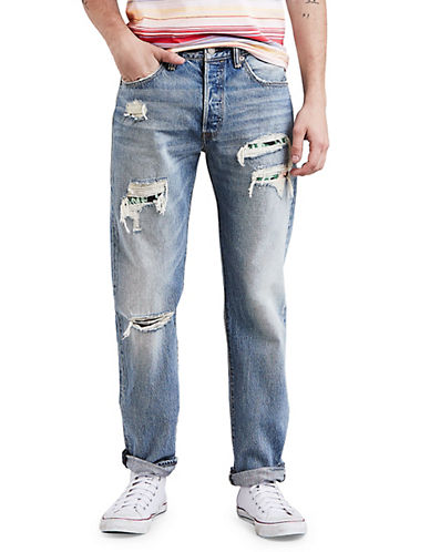 Levi'S 501 Original Cotton Jeans-BLUE-33X32 90060311_BLUE_33X32