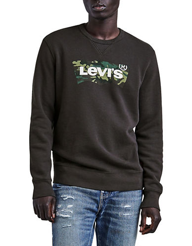 Levi'S Phantom Graphic Sweatshirt-BLACK-Medium 89928421_BLACK_Medium