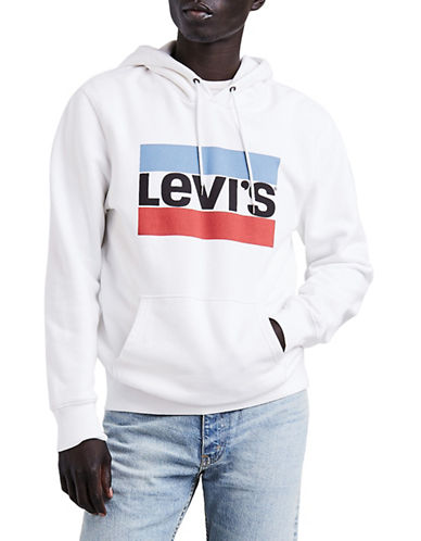 LeviS Olympic Graphic Hoodie-WHITE-Large