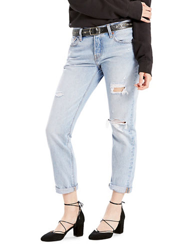 Levi'S So Called Life Ripped 501 Jeans-LIGHT/BLUE-29
