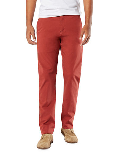 Dockers Henna Slim Alpha Khaki Smart Pants-HENNA-30X32