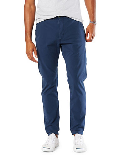 Dockers Slouch Alpha Smart 360 Flex Jogger Pants-BLUE-36X30