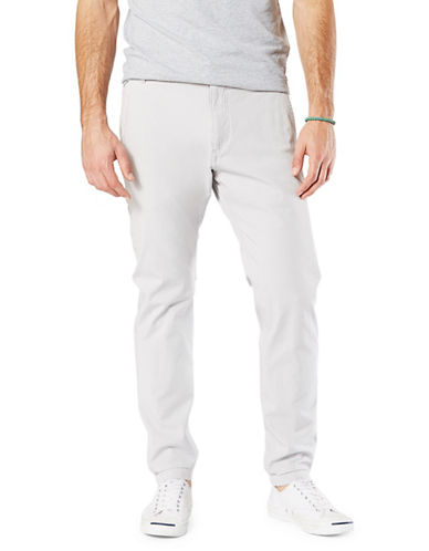 Dockers Slouch Alpha Smart 360 Flex Jogger Pants-GREY-34X30