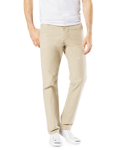 Dockers Slim Tapered-Fit Alpha Khaki Pants-BEIGE-36X30