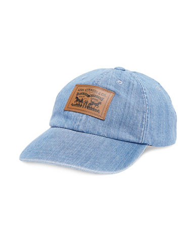 Levi'S Two-Horse Patch Denim Baseball Cap-LIGHT BLUE-One Size 89939144_LIGHT BLUE_One Size