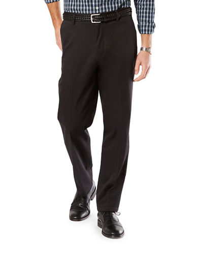 Dockers Classic Fit Signature Khaki with Stretch-BLACK-34X32