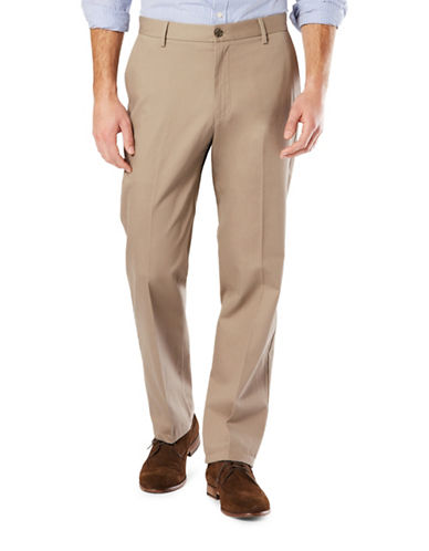 Dockers Classic Fit Signature Khaki with Stretch-TIMBERWOLF-32X30