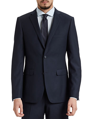 1670 Slim Fit Navy Suit Jacket-NAVY-42 Short