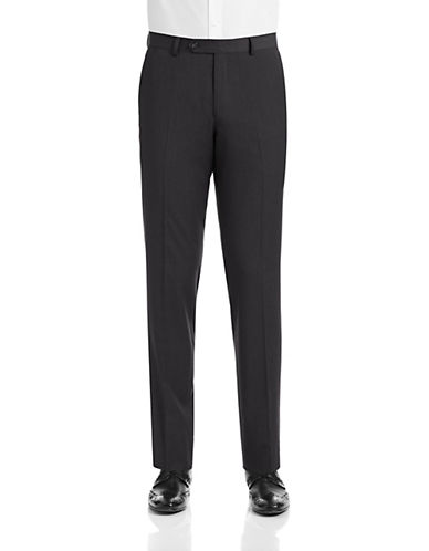 1670 Slim Fit Charcoal Suit Pants-CHARCOAL-36X32