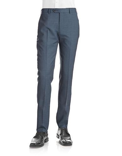 Coppley Ace Wool Dress Pants-BLUE-38