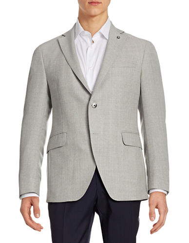 Coppley Textured Sportcoat-GREY-40 Regular