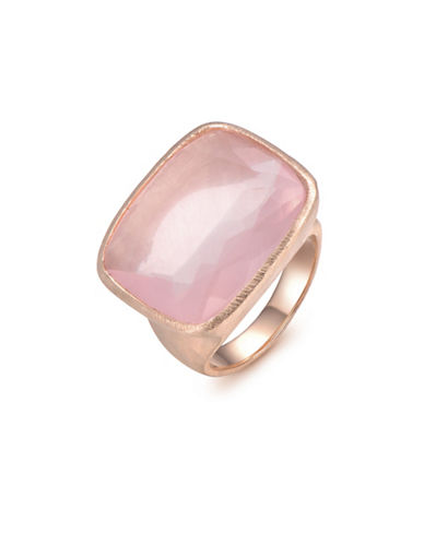 Piara Rose Quartz Cushion Ring-PINK-6