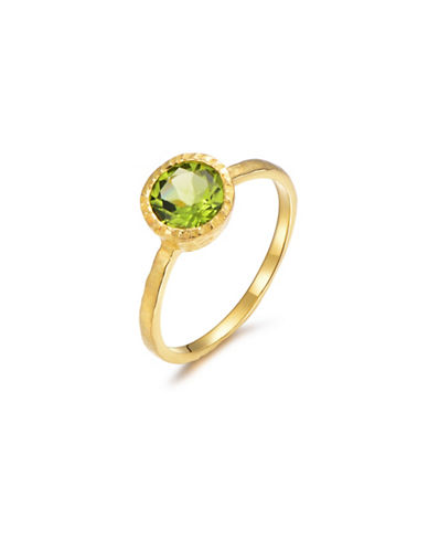 Piara Peridot Solitaire Ring-GREEN-7