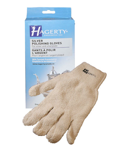 Hagerty Silver Polishing Gloves-NO COLOUR-One Size
