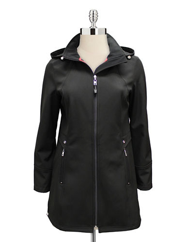 London Fog Soft Shell Jacket-BLACK-Small 88038751_BLACK_Small