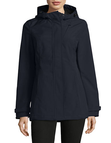 Novelti Hooded Soft Shell Jacket-NAVY-Large
