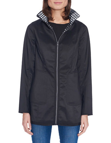 Novelti Stand Collar Soft Shell Bonded Jacket-BLACK-Small 89813370_BLACK_Small