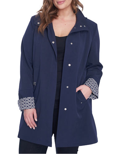Novelti Plus Stretch Walker Gaberdine-NAVY-2X