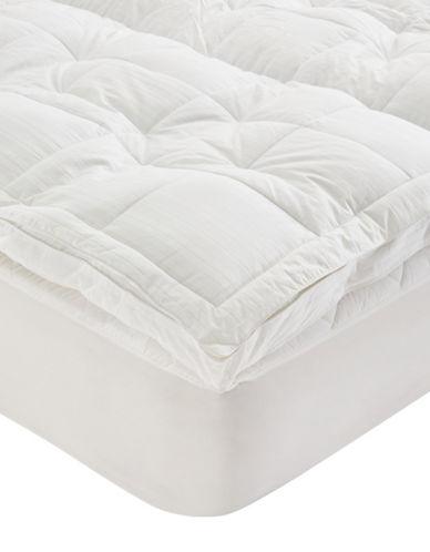 Glucksteinhome Pillow Top Fibre Bed-WHITE-Full