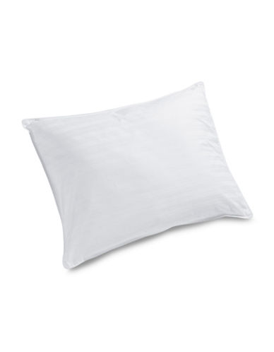 Glucksteinhome Gel Fibre Medium Support Pillow-WHITE-Queen
