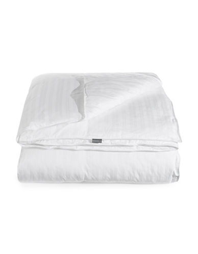 Glucksteinhome Gel Cluster Down Alternative Medium Weight Duvet-WHITE-Queen