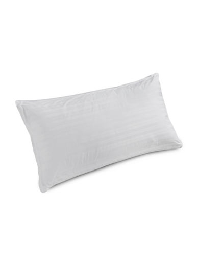 Glucksteinhome White Duck Down All Sleep Type Pillow-WHITE-Queen