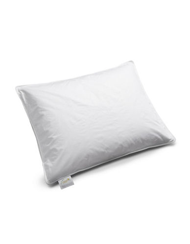 Fairmont Luxury Feather and Down Firm Support Pillow-WHITE-Standard