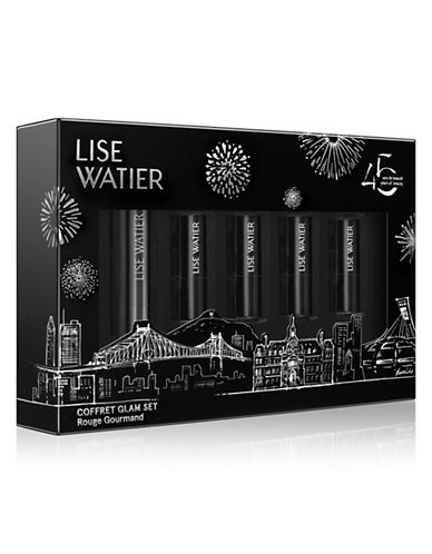 Lise Watier Glam Rouge Gourmand Five-Piece Set-NO COLOUR-One Size