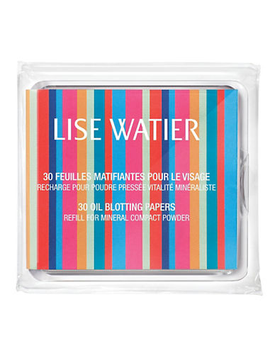 Lise Watier Oil Blotting Papers-NO COLOUR-One Size