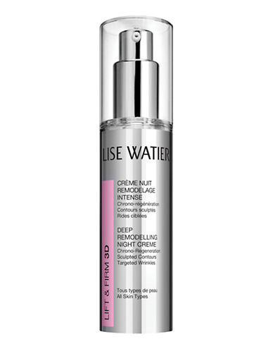 Lise Watier LIFT and FIRM 3D Deep Remodelling Night Creme - 50 Ml-NO COLOUR-One Size