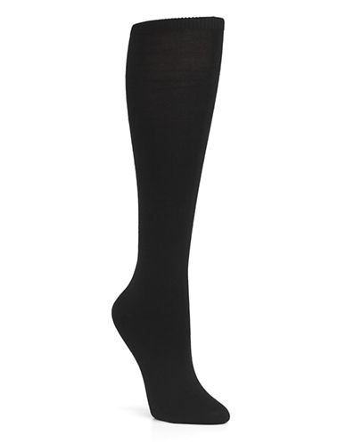 Mcgregor McGregor Mercerized Knee High-BLACK-One Size