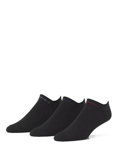 Calvin Klein 3 Pack Athletic Liner Socks-ASSORTED-7-12